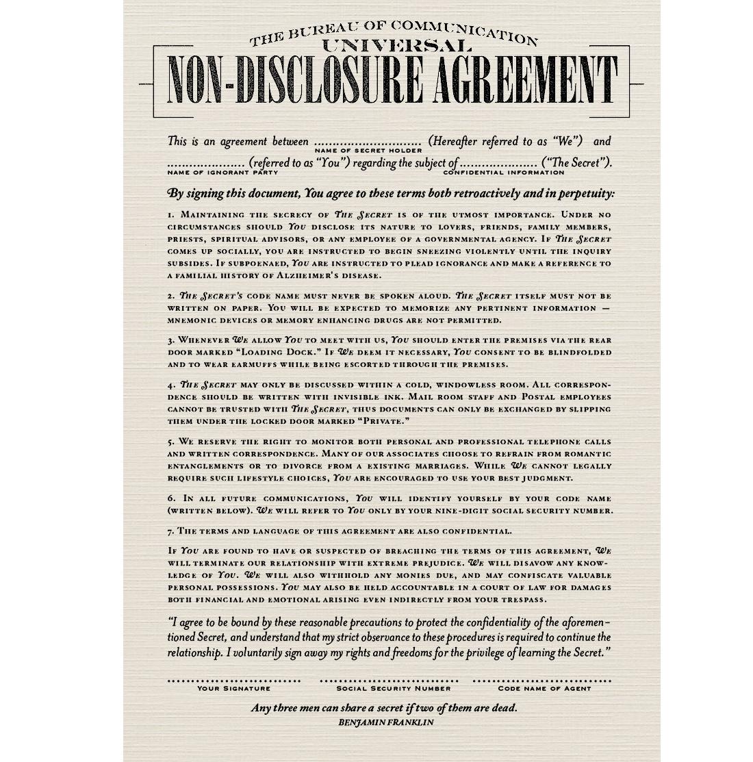 Розповідаємо про NDA: як правильно оформити договір і яка є відповідальність за його порушення