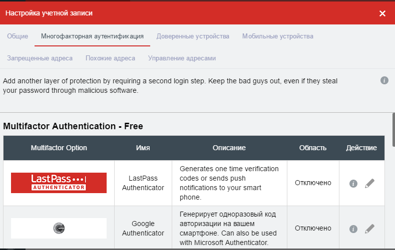 Програма LastPass – кращий менеджер паролів для ваших пристроїв