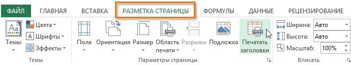 Все про колонтитулах в Excel: створення, редагування, видалення