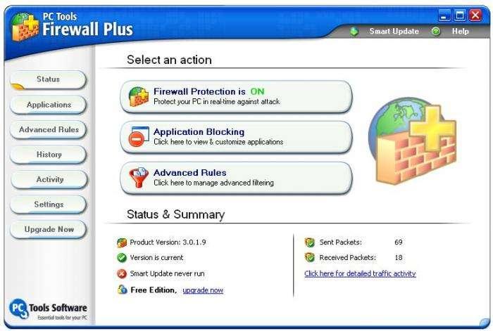 Брандмауер для Windows 7: огляд кращих програм
