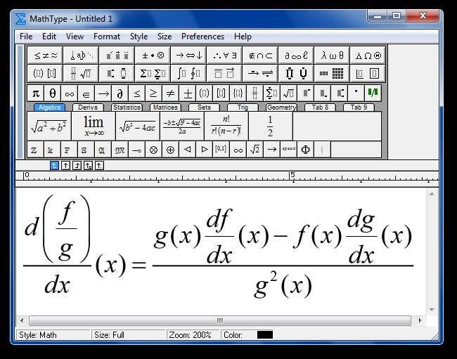 Створення і вставка формул у Word — Покрокове керівництво