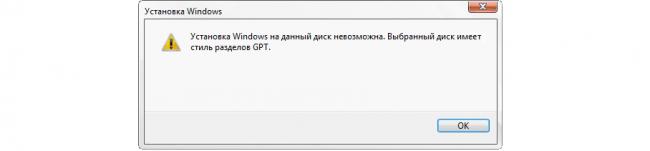 Як встановити Windows 7 на диск GPT: Докладна інструкція