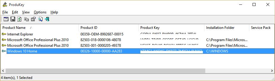 5 простих способів дізнатися ключ продукту Windows 10