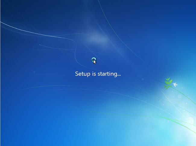 Переустановка Windows 7 з диску: працює ОС в 3 кроки
