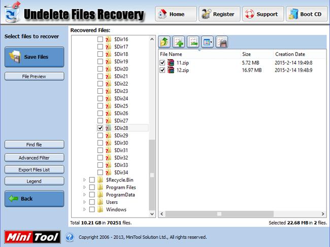 Power Data Recovery: друге життя видалених файлів