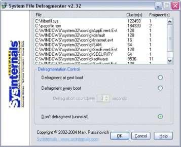 Кращі програми для дефрагментації жорсткого диска на ОС Windows