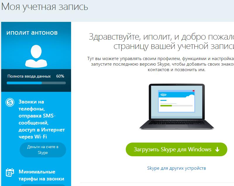 Skype (скайп) онлайн без установки на компютер. Як весь час залишатися на звязку?