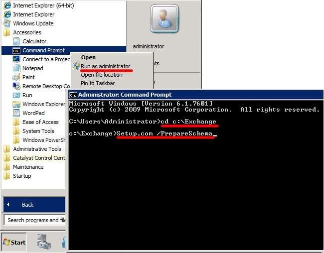 Установка Exchange 2010: як отримати власний домен?