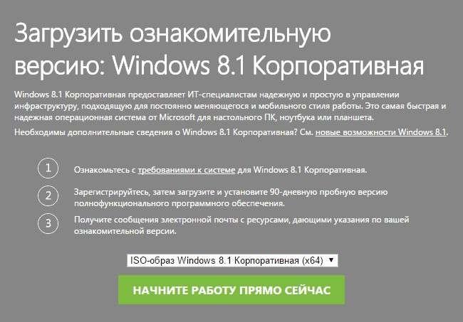 Де завантажити Windows 8 Оригінальний образ?